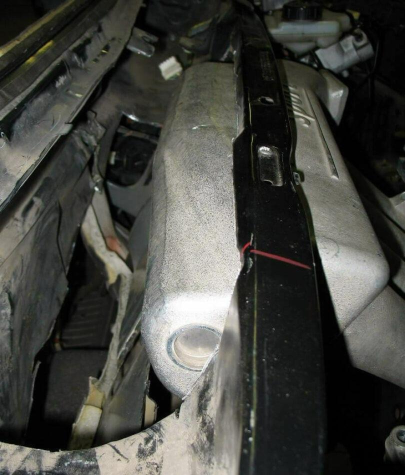 Tecnica motore collettore 206 prove ingombro