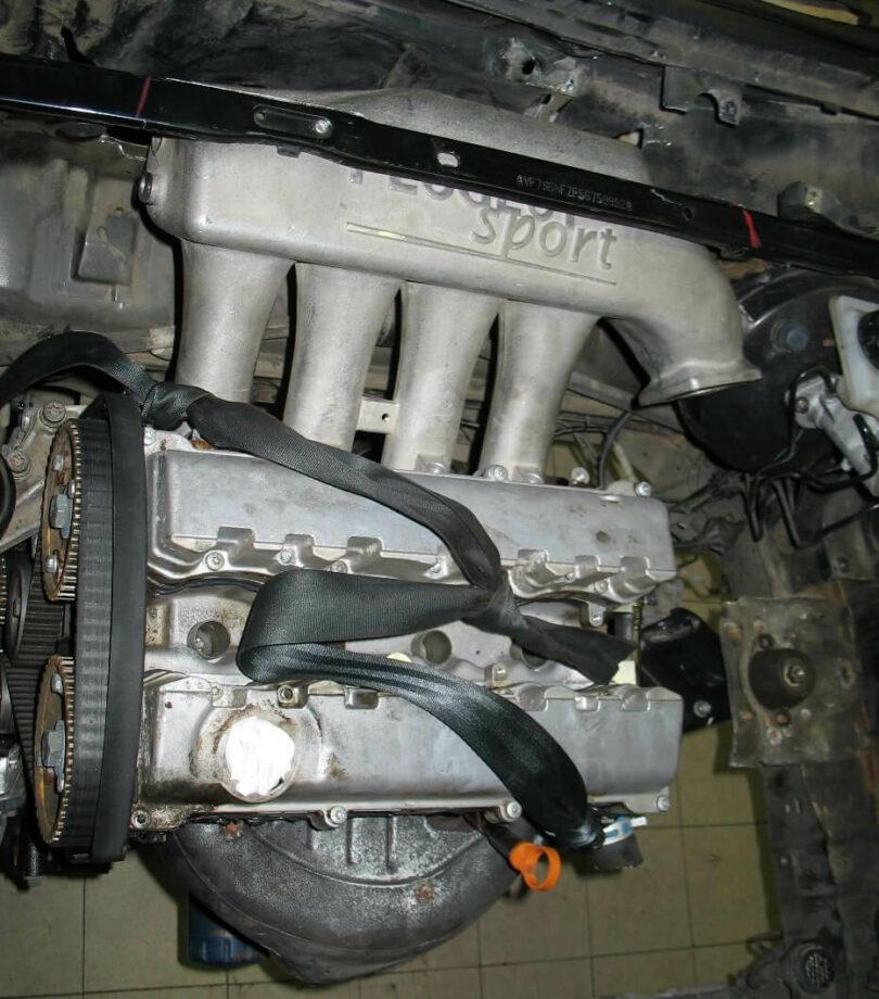 Tecnica motore collettore 206 prove ingombro 2