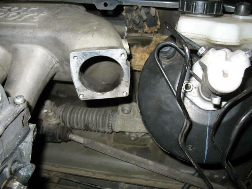 Tecnica motore collettore 206 prove ingombro 3