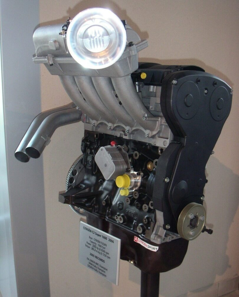 Tecnica motore collettore C2 Super visita CS 2