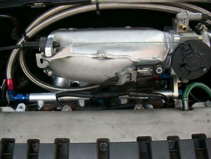 Tecnica motore collettore C2 VTS montato 3