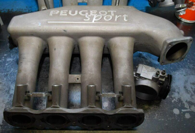 Tecnica motore collettori 206 Super 1600 A 2