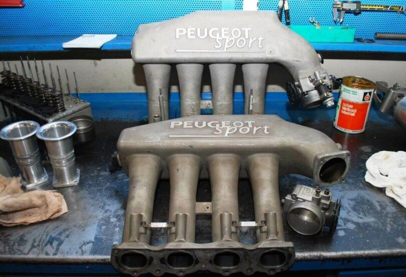 Test collettore 206 Super 1600