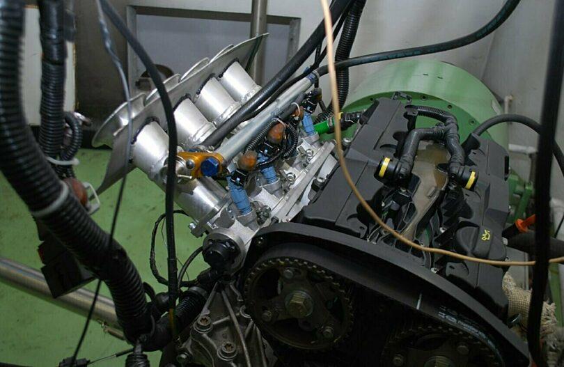 Test collettore 206 Super 1600 3