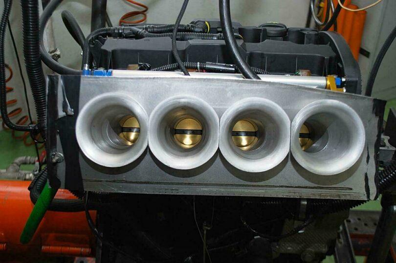 Test collettore 206 Super 1600 4